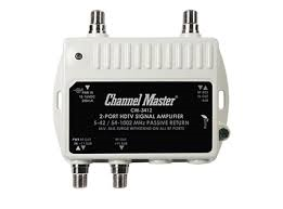 Channel Master 3412 CM-3412 2 way distribution amplifer