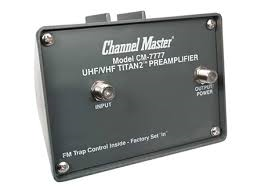 Channel Master 7777 CM-7777 Preamplifer for HD TV antenna