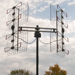 Antennas Direct DB8e pointing in 2 different directions