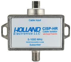 Holland CISP-HR cable isolator