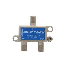 Holland GHS-2P 2 way splitter DC pass one side