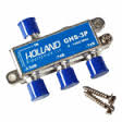 Holland GHS-3P 3 way splitter with DC pass on one side
