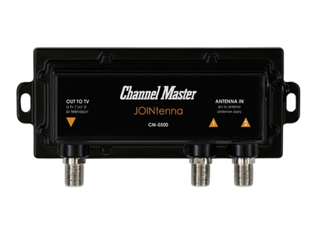 Channel Master JOINtenna HDTV Antenna Joiner / Combiner CM-0500