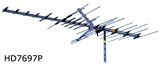 Winegard HD-7695P HD TV Antenna Ariel for High VHF, UHF OTA Over the air digital signals